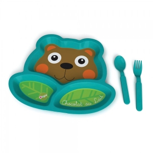 Easy-Meal - WEANING SET - Three-pieces meal-set - OOPS GLOBAL