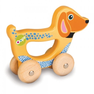 "Easy-go - WOODEN ""HAND RUNNING"" TOY - OOPS GLOBAL"
